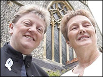 Rev Debbie Gaston and her partner Elaine Cook