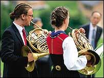 Schubert horn players