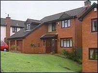 The family home in Cardiff