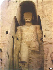 Bamiyan Buddha in Afghanistan, a file picture