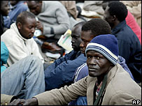 Sudanese refugees in Egypt