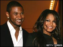 Usher and Janet Jackson