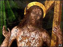 Imagen de Jesús, atribuida al pintor Rafael