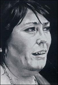 Portrait of Siân James