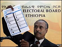 Election Board chairman