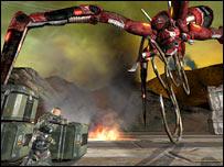 Screenshot of Quake for Xbox 360