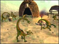 Screenshot of Spores