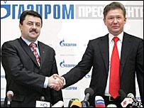 Ивченко и Миллер на пресс-конференции