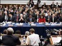 Testigos en juicio por esteroides, EE.UU.