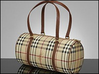 Burberry bag in classic Burberry check