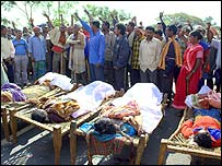Funeral in Orissa