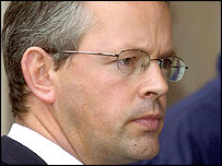 David Bermingham, one of the three bankers accused by the US of wire fraud