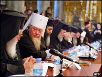 Orthodox Church leaders in Istanbul