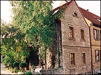Alois Alzheimer's birthplace - courtesy of Eli Lilly Co