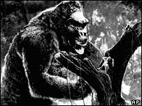 King Kong original beast from the 1933 classic