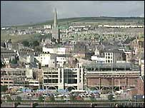 The attack took place in Londonderry