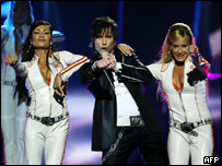 Sweden's entry to the 2005 Eurovision competition