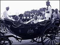 Viceroy Mountbatten in Delhi, 1947