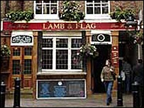 "Pub ""lamb and Flag"""