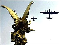 Flypast over Buckingham Palace