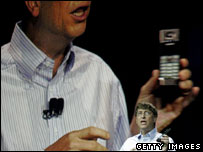 Bill Gates at CES, Getty Images