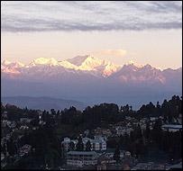 Mount Kanchenjunga, the world's third tallest peak