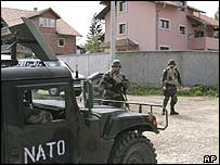 Nato troops in Pale