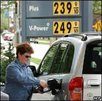 Consumo de gasolina en EE.UU.