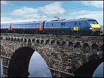 Royal Border Bridge at Berwick-upon-Tweed