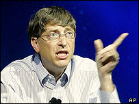 Microsoft co-founder and chairman Bill Gates
