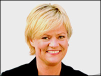 Norway's Finance Minister Kristin Halvorsen (pic: ministry website)
