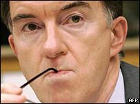 EU trade chief Peter Mandelson