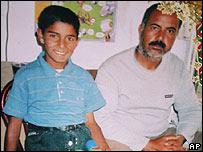Mehmet Ali Kocyigit (left)
