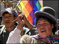 Protests in La Paz