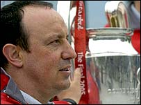 Liverpool boss Rafa Benitez