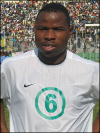 Zambia and Kaizer Chiefs striker Collins Mbesuma