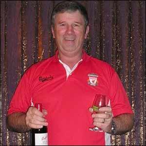 Liverpool fan John Proffitt Zealand