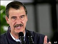 Vicente Fox, presidente de M�xico
