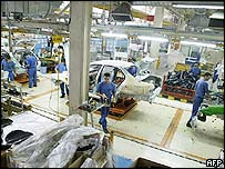 Iranian car plant