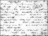 An image of the text on the language written by linguist Edward Sapir