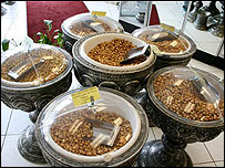 Iranian spices and nuts for sale