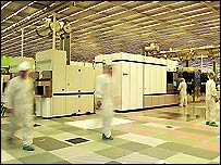 IBM semiconductor factory in the USA