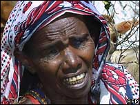 Woman in northern Kenya