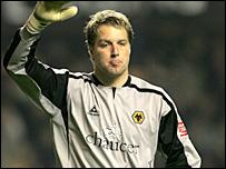 Wolves goalkeeper Stefan Postma