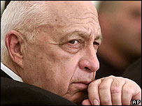 Ariel Sharon in a 2002 file photo