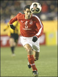 Ahly and Egypt's Mohamed Barakat