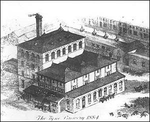Tyne Brewery 1884