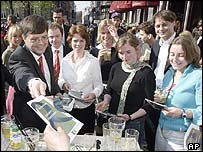 Netherlands PM Jan Peter Balkenende