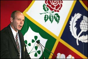The Lions coach Sir Clive Woodward