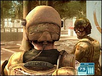 Screenshot from Ghost Recon 3 for the Xbox 360